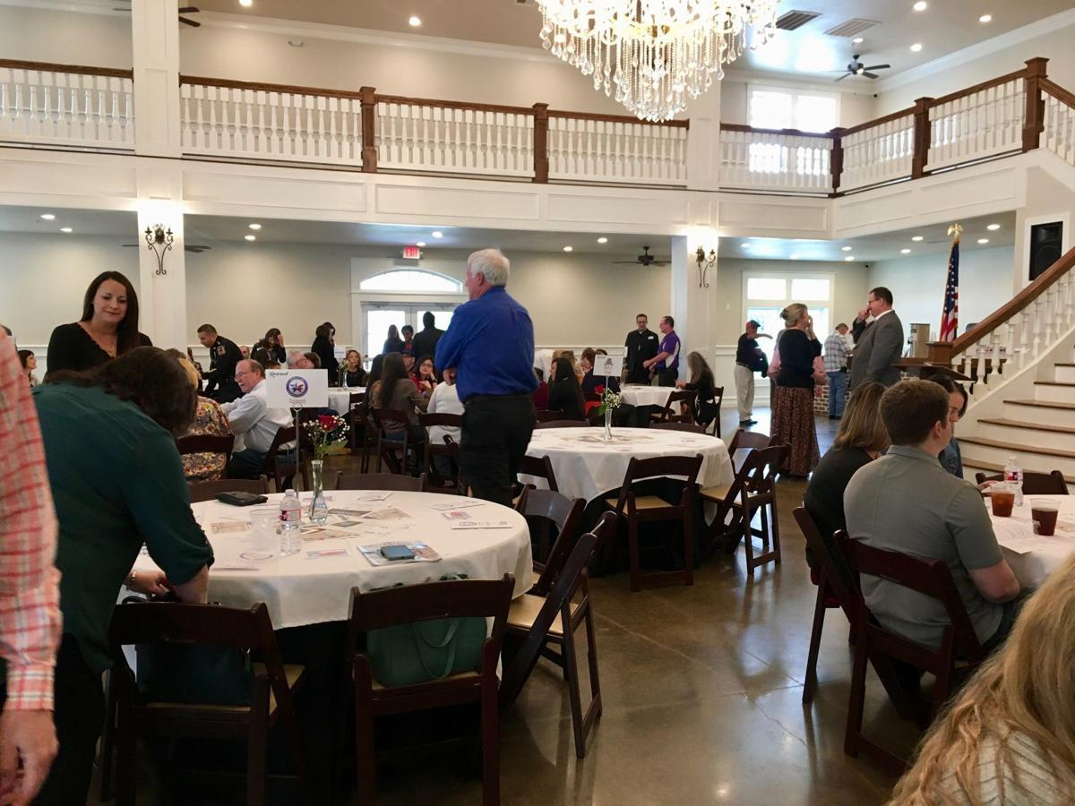 Angleton Chamber awards lunch crowd