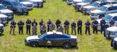 :Local law enforcement honors slain trooper