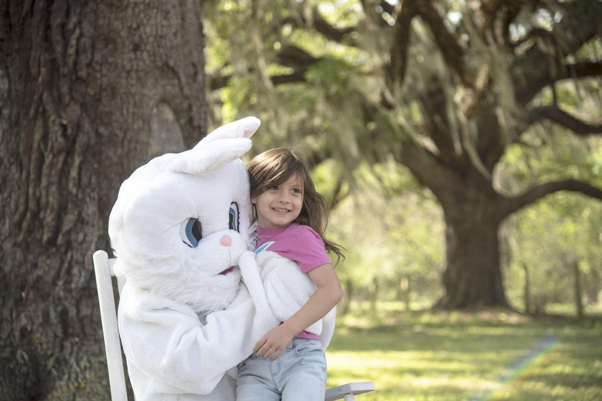 Varner-Hogg Easter egg hunt