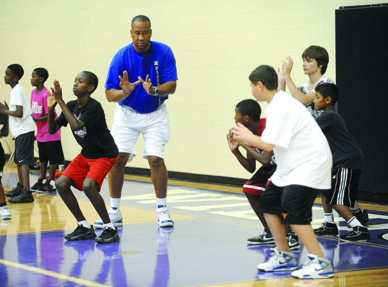Old School Coaching Ex Cougar Micheaux Assists At Angleton