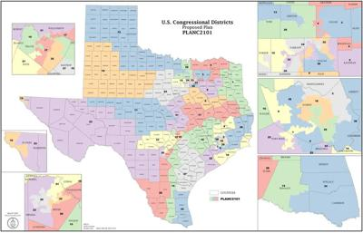 Congressional maps draft