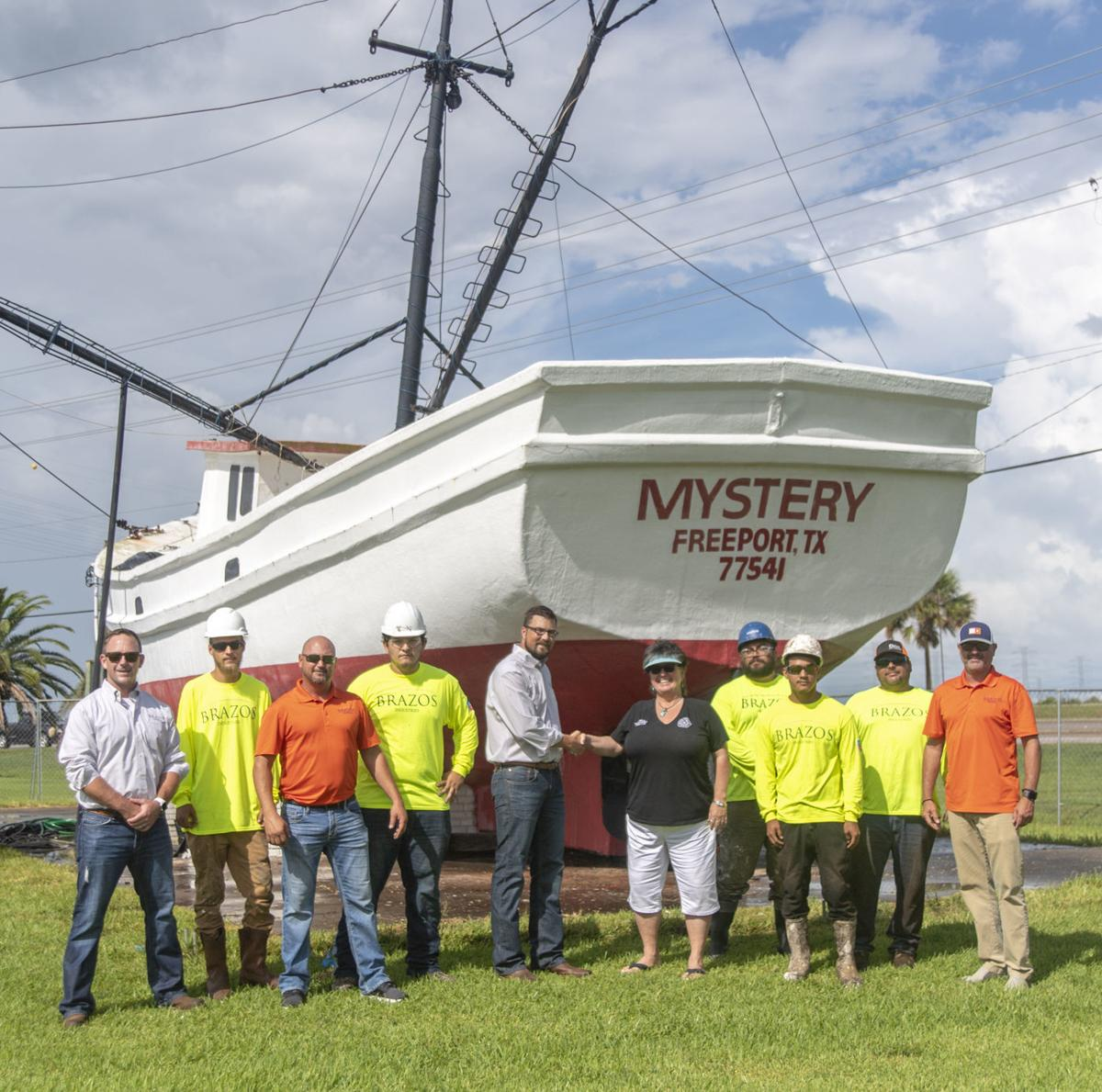 Freeport Mystery landmark getting restored to former glory