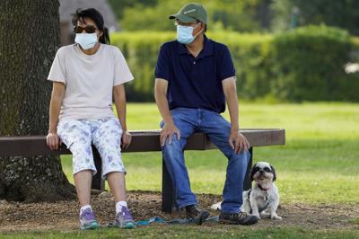 Virus Outbreak Texas Daily Life