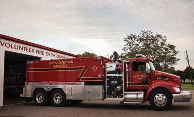 Jones Creek fire truck