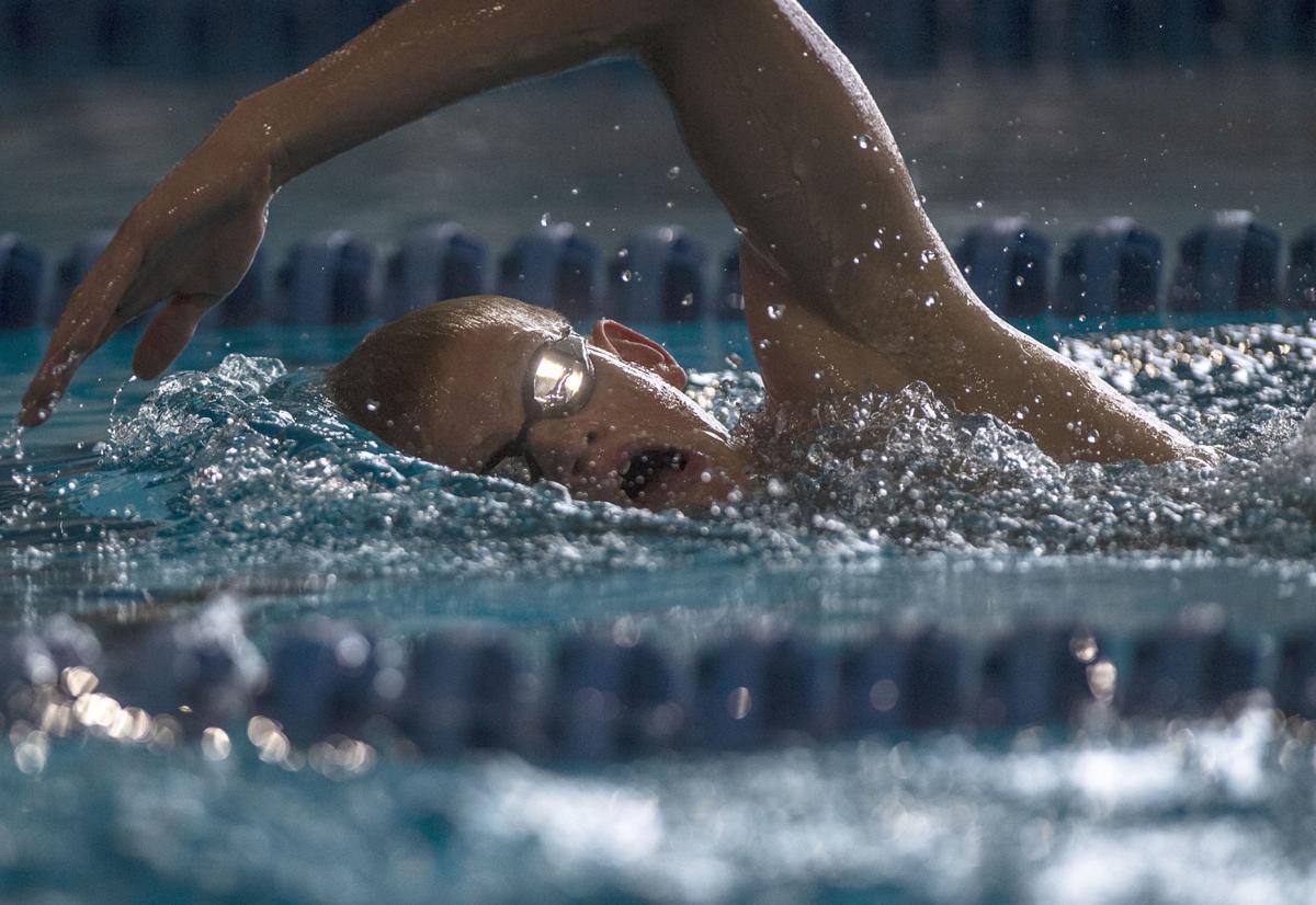 Angleton swimmer Fynn Andrews