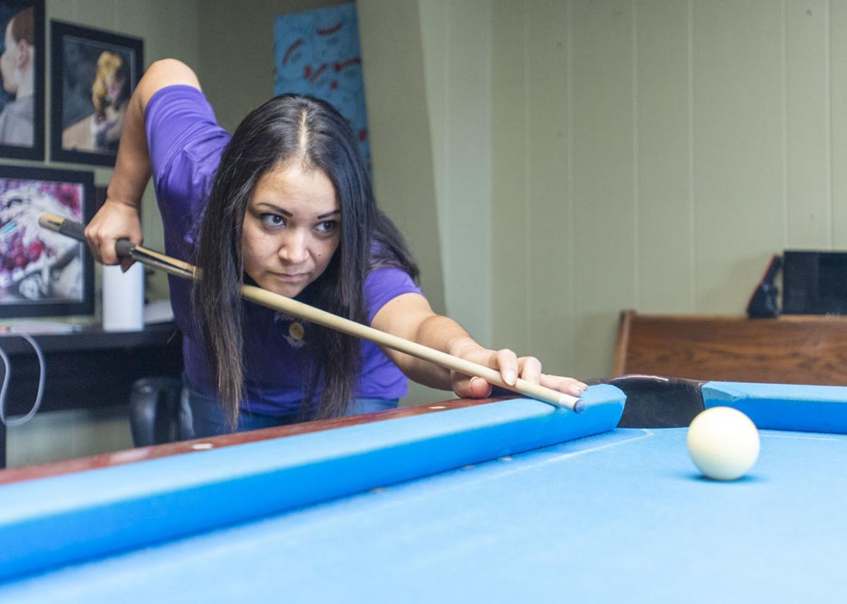 Local billiard player thinks she has a shot in Las Vegas