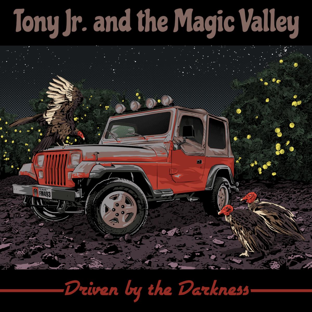 Tony Jr. album cover