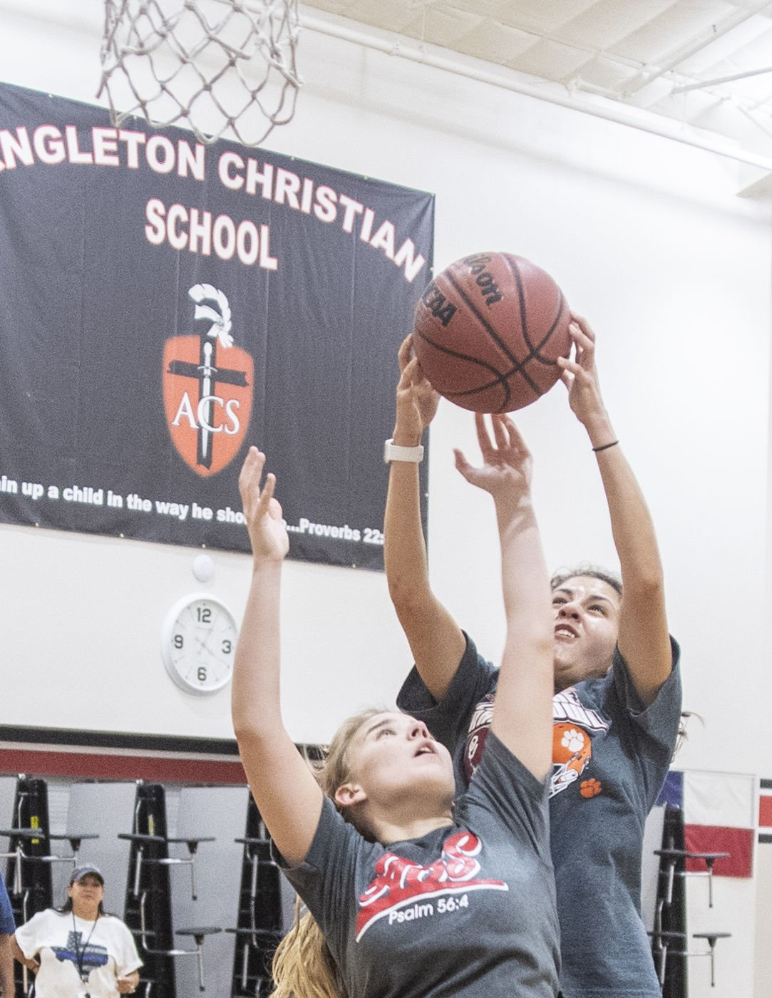 Angleton Christian Basketball