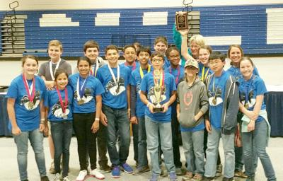 BISD Students Advance to State in Science Olympiad Competition