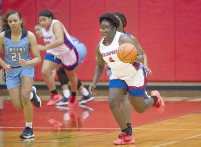 Sweeny at Brazosport girls basketball
