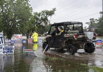 Sweeny flooding and voting