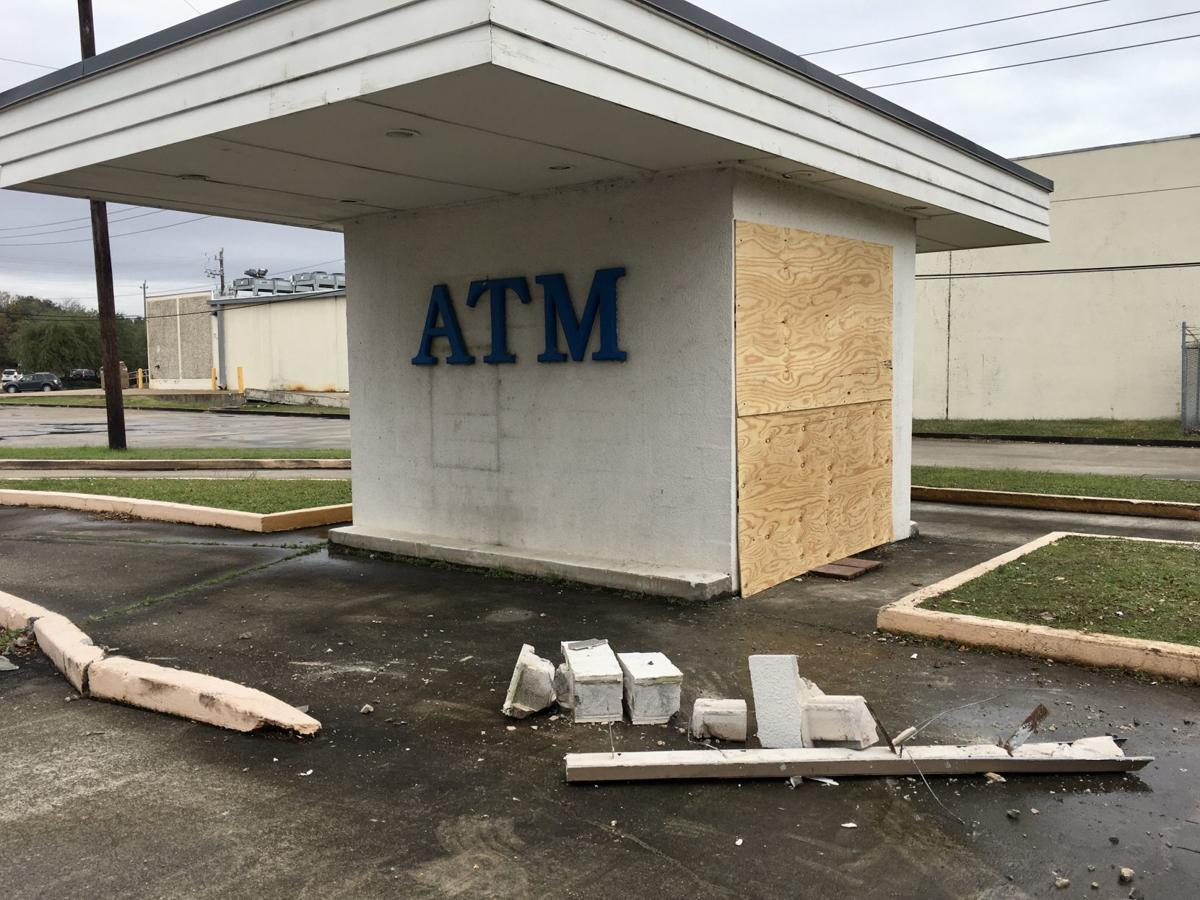 First National Bank ATM burglary 1