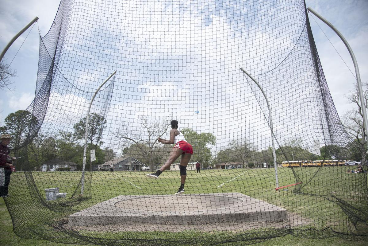 District 24-4A Track and Field Meet