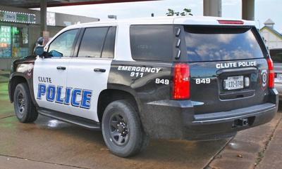 Clute patrol car