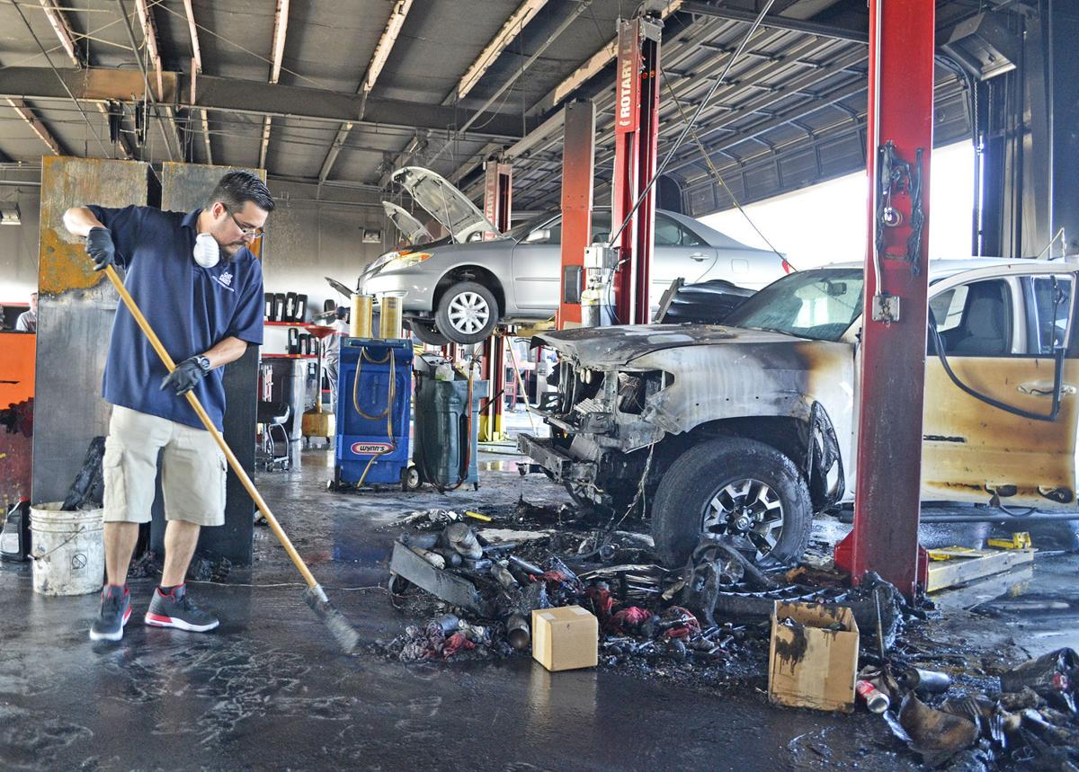 Gulf Coast Toyota >> Repair Shop Fire Injures Gulf Coast Toyota Worker News