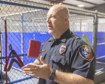 Angleton police chief file