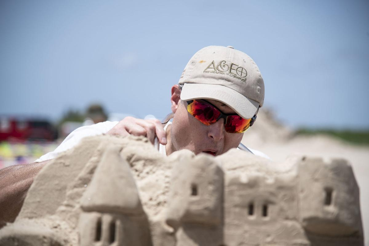 Sandcastle/sculpture challenge