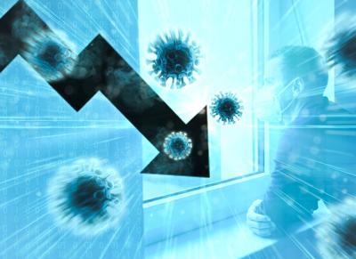 decreasing corona virus infections