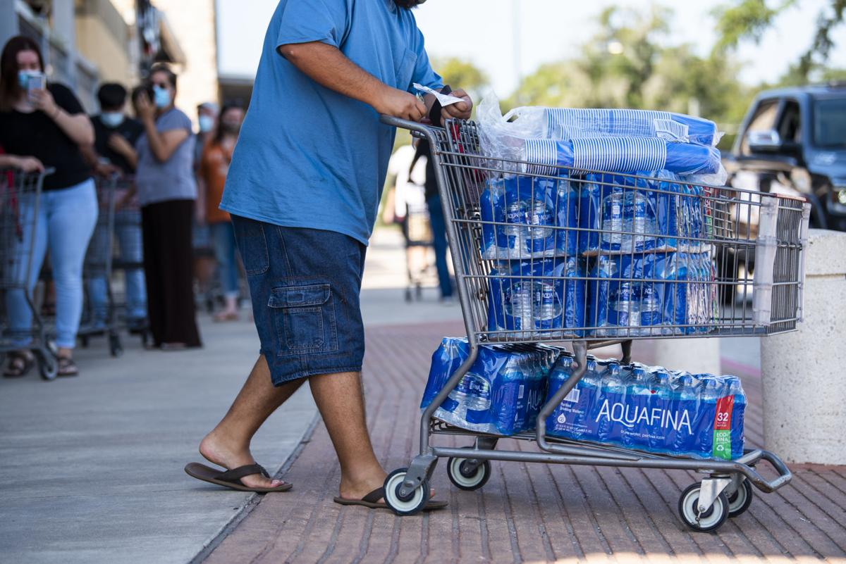 Lake Jackson residents flock to stores to buy bottled water