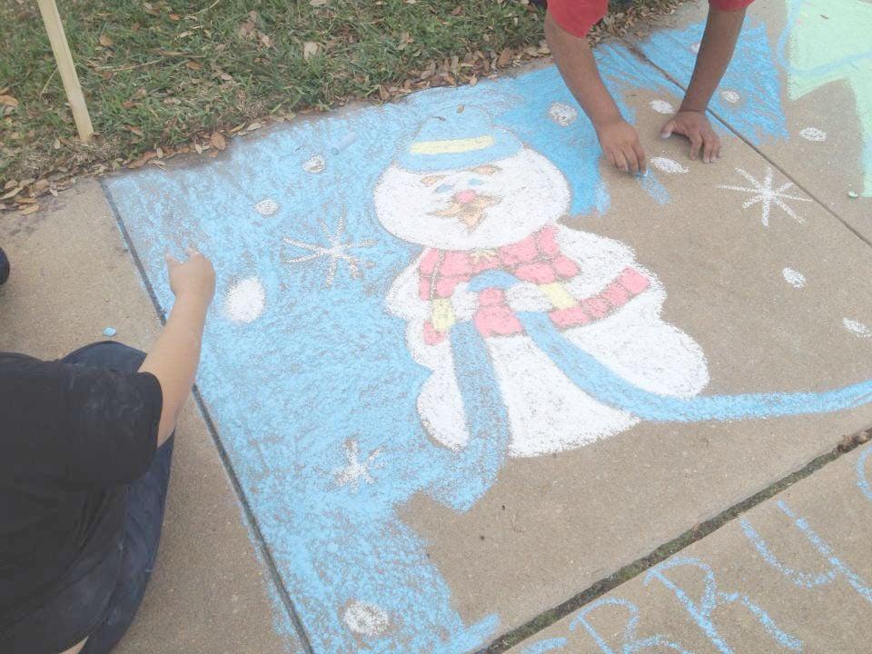 Chalk Art Design Freeport Maine