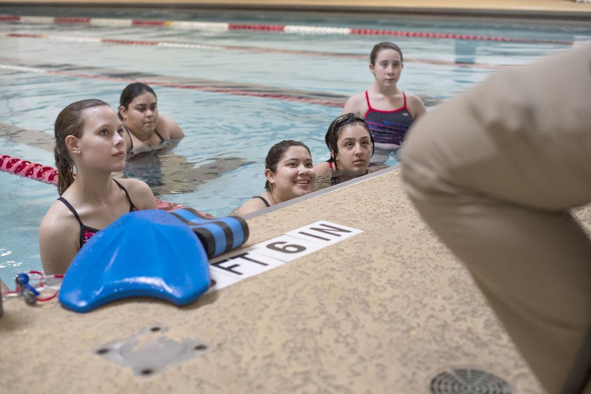 Brazosport swimming