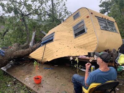 Brazoria man escapes tragedy