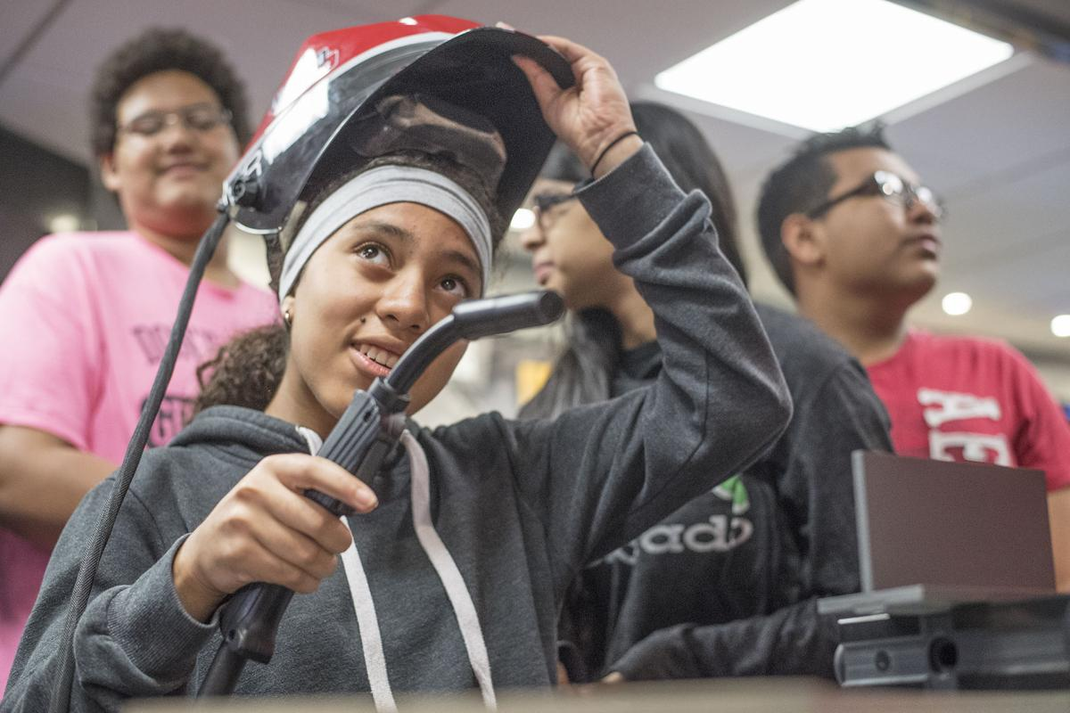 American Welding Society Educational Mobile Unit visits AHS