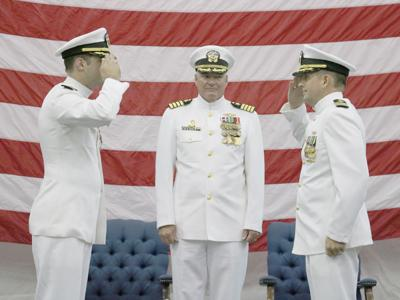 Lake Jackson Native Assumes Command of Navy's Fleet Survey Team