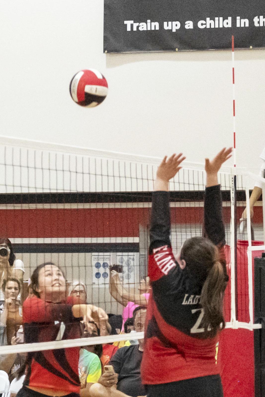 Faith Christian at Angleton Christian volleyball