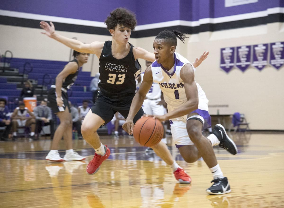 Angleton vs. Fulshear basketball