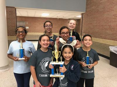 Our Lady Queen of Peace Catholic School Chess Team Mayor's Cup Tournament Winners