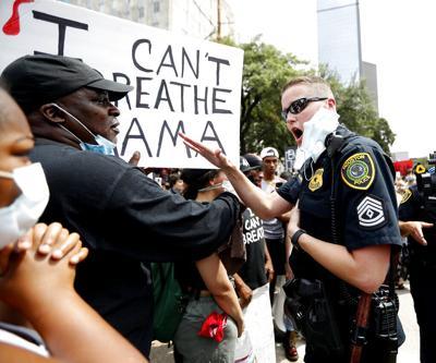 Minneapolis Police Death Texas Protest