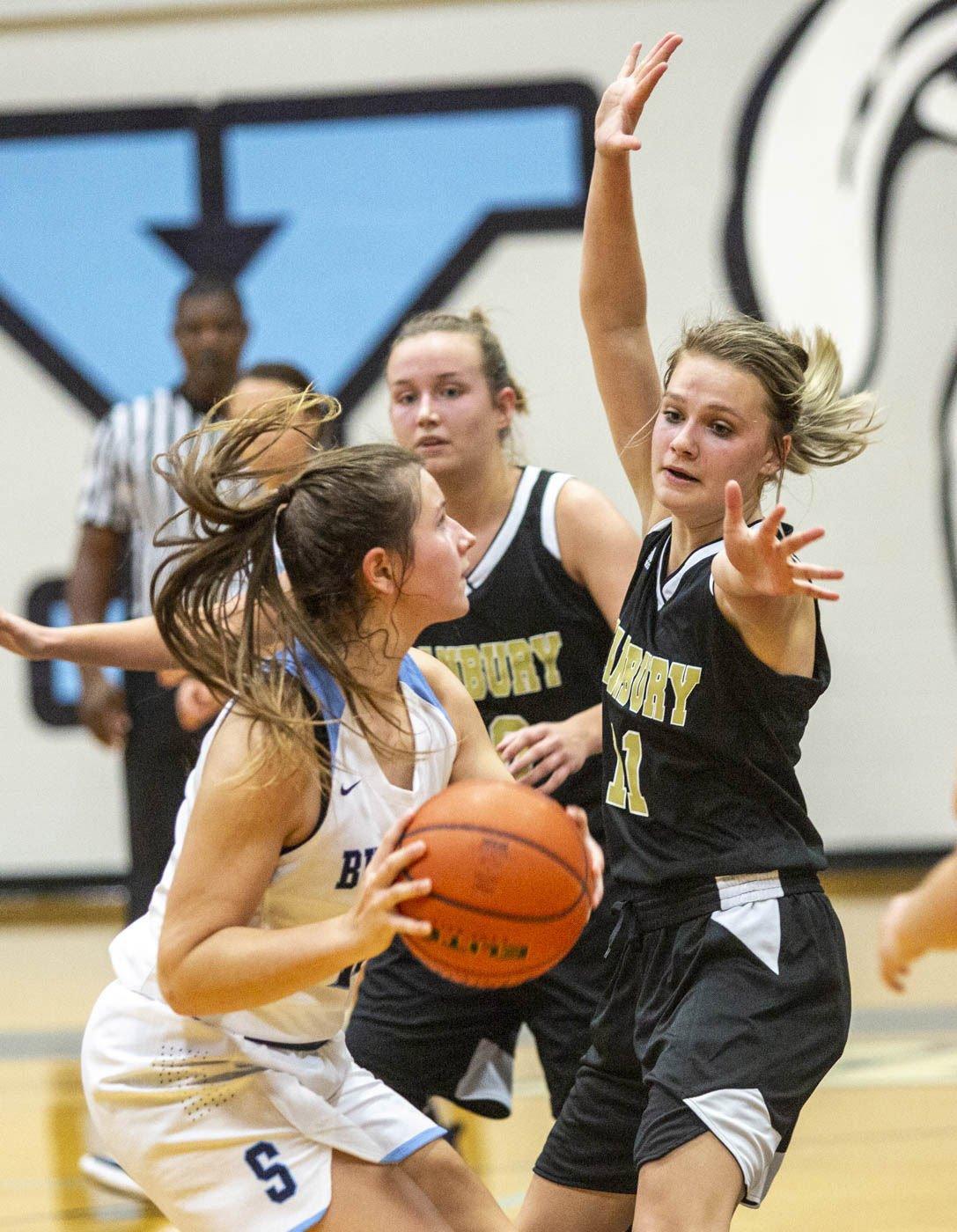 Danbury vs Sweeny Girls Basketball
