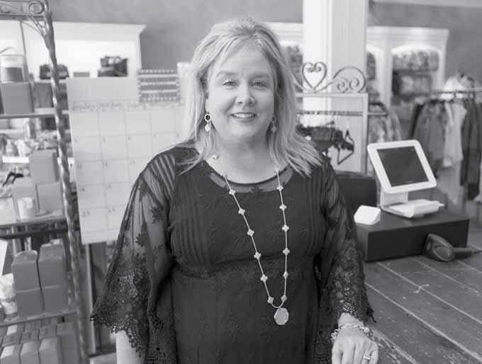 Business owner does more than sit back in her office