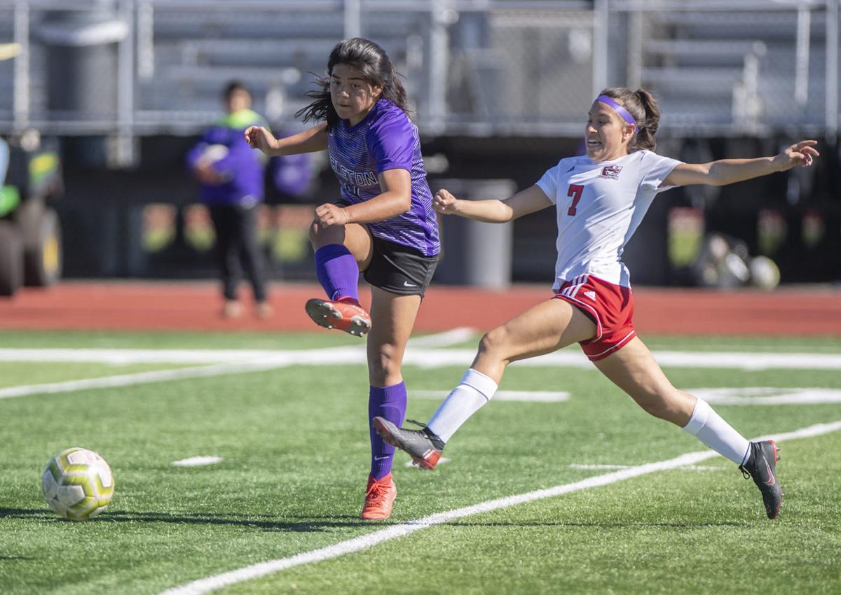 Angleton vs Goose Creek girls soccer