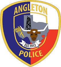 Angleton police badge
