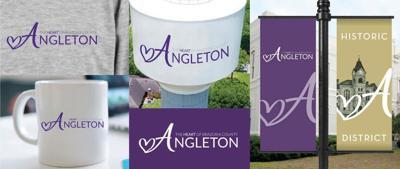 angleton logo collage