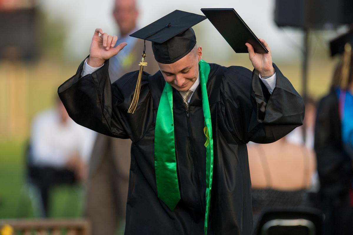 Danbury High School's graduation.