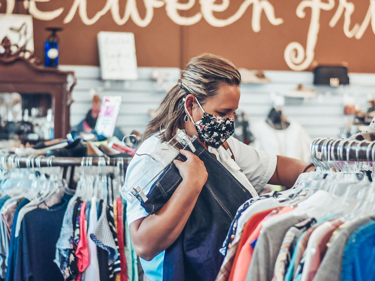Parents retain normalcy through secondhand shopping