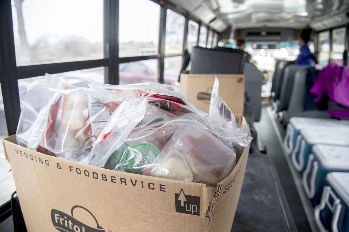 Angleton ISD food distribution