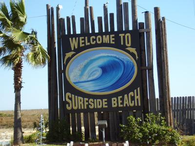 Surfside Beach sign