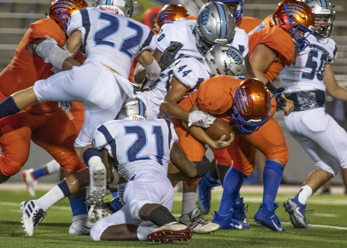 Football - Sweeny vs Grand Oaks