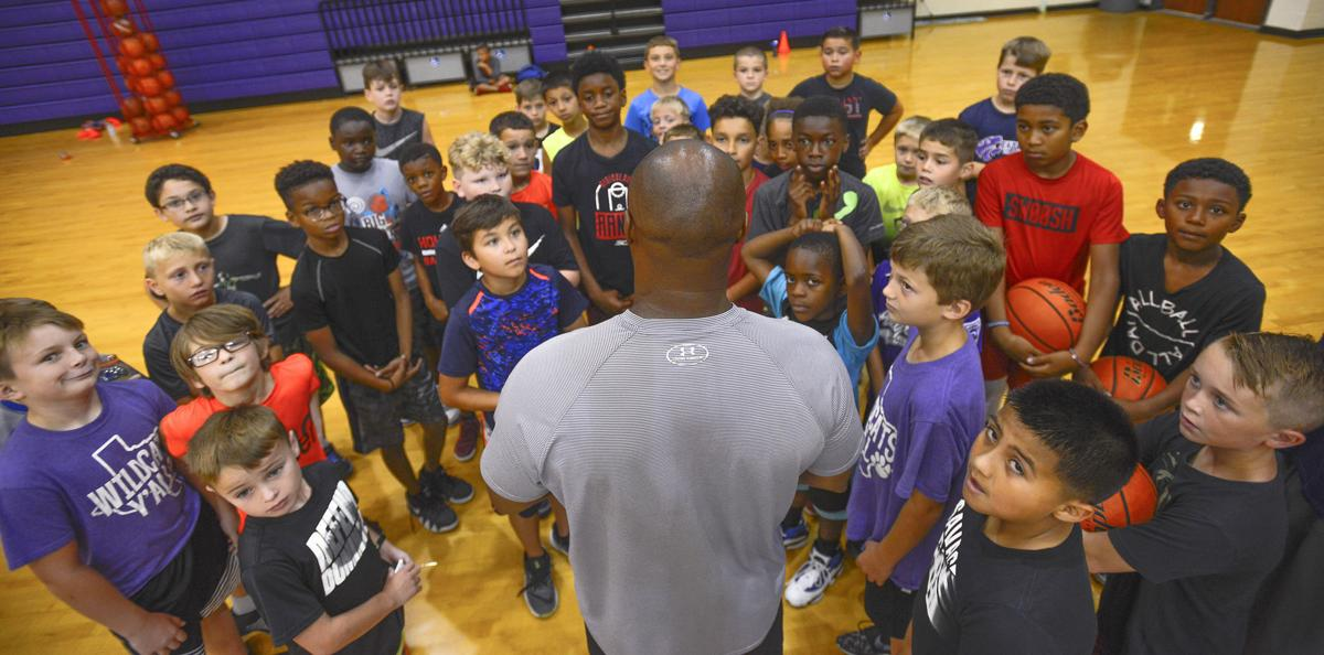 Angleton Basketball Camp