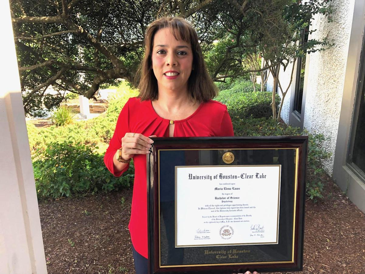 Richwood resident gets degree after decade-long journey
