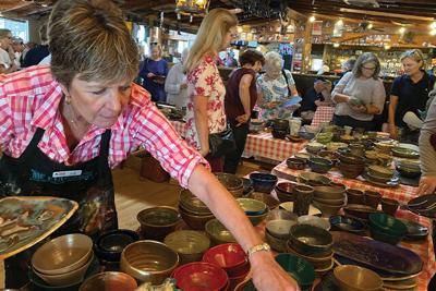 Foothills Empty Bowls Lunch & Art Auction.