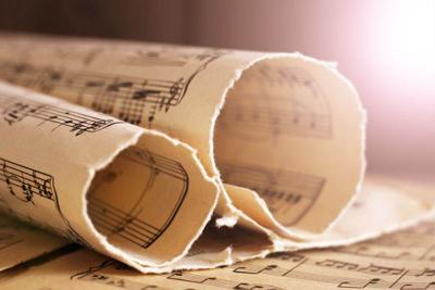 Written Music Notation, retro notes