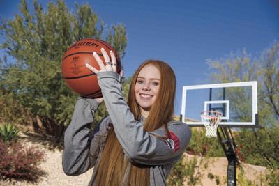 Kayla Clark's Boulder Creek basketball