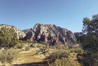 Brin's Mesa has incredible views.