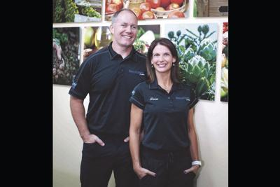 Dr. Brian Hester and his wife Desiree Kretsch-Hester