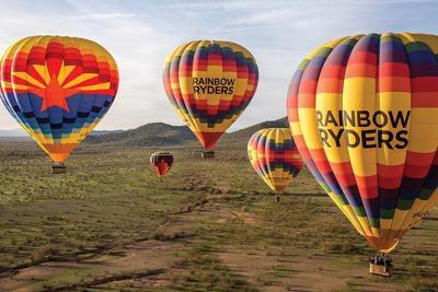 North Valley hot air balloon company Rainbow Ryders